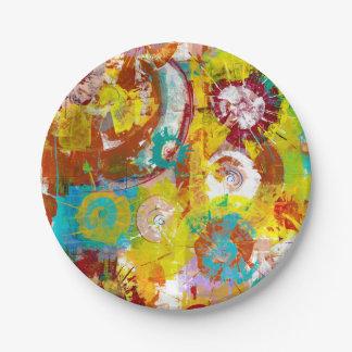 Big Bang Paper Plate