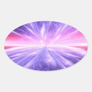 Big Bang Pegatina Ovalada