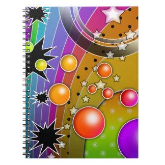 Big Bang Rainbow Notebook