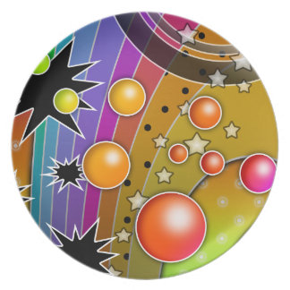 Big Bang Rainbow Plate