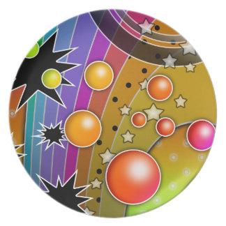 Big Bang Rainbow Plate