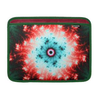 Big Bang - red and blue fractal explosion Sleeve For MacBook Air