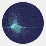 Big Bang Round Stickers