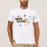 big bang solar system t-shirt design science geek