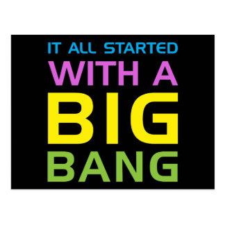 Big Bang Tarjetas Postales