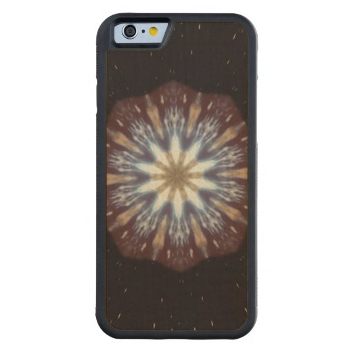 Big Bang Theory Kaleidoscope Carved® Maple iPhone 6 Bumper