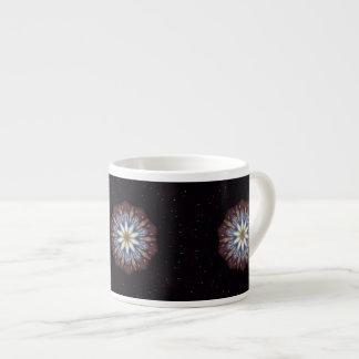 Big Bang Theory Kaleidoscope Espresso Cup