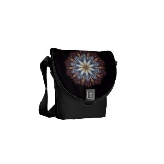 Big Bang Theory Kaleidoscope Messenger Bags