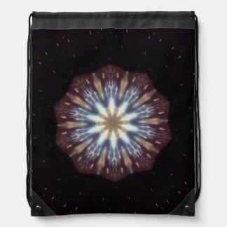 Big Bang Theory Kaleidoscope Cinch Bag