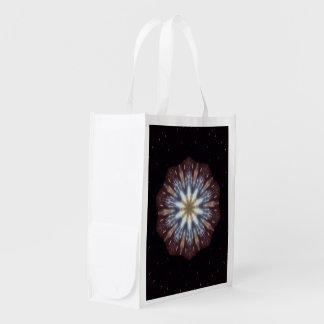 Big Bang Theory Kaleidoscope Grocery Bags