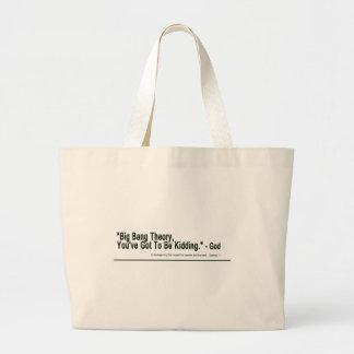 Big Bang Theory Large Tote Bag