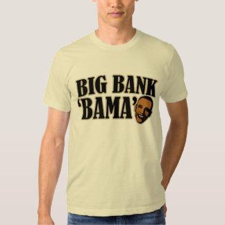 Big Bank Bama AntiObama Funny Political Shirt