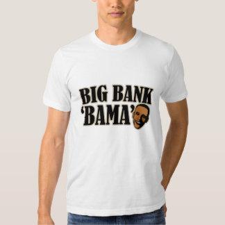 Big Bank Bama AntiObama Funny Political T Shirt