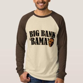 Big Bank Bama AntiObama Funny Political T-shirt