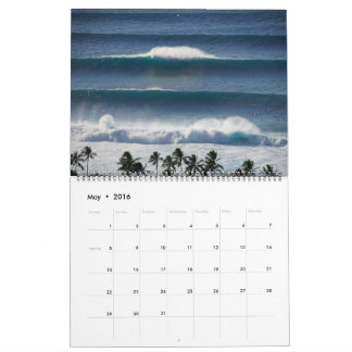 Big Banzai Pipeline Panoramas Calendar