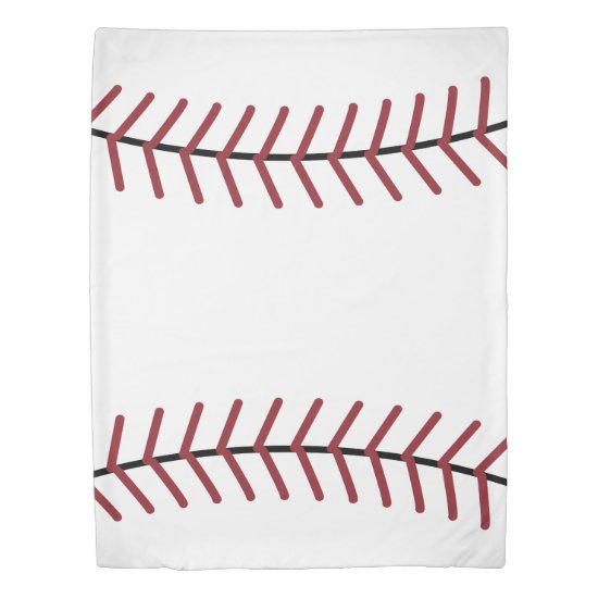 Big Baseball Duvet Cover