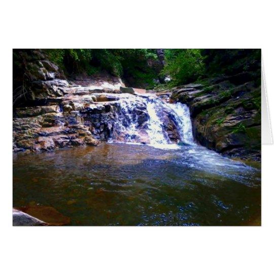 Big Basin Waterfall Note Card