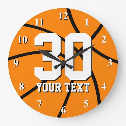 Large Numbers Clocks Large Numbers Wall Clock Designs