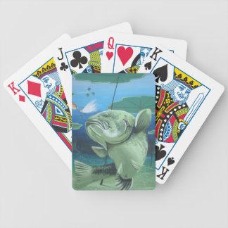 big bass bicycle playing cards