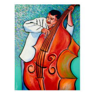 Big Bass Man Postcard