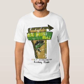 Big Bass Motel Distressed T-shirt