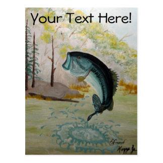 Big Bass Postcards