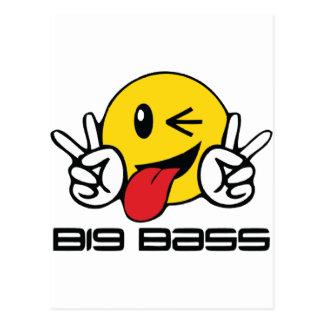 Big Bass Postcard