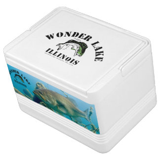 Big Bass  Wonder Lake Igloo 12 Can Cooler