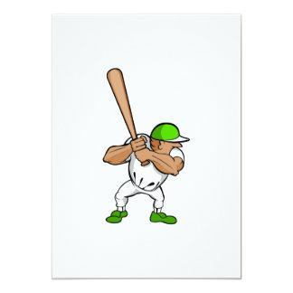 Big bat little player card
