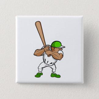 Big bat little player pinback button