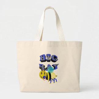 big bay bee large tote bag