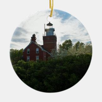 Big Bay Lighthouse Ceramic Ornament