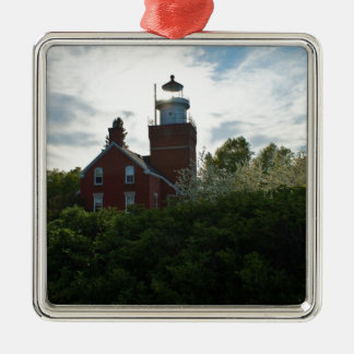 Big Bay Lighthouse Metal Ornament