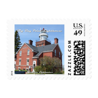 Big Bay Point Lighthouse: 1st Class Postage
