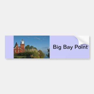 Big Bay Point Lighthouse Bumper Sticker