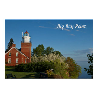 Big Bay Point Lighthouse Posters