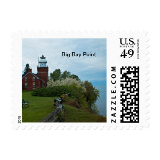 Big Bay  Point Postage Stamps