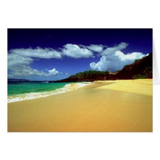 Big Beach, Makena Card