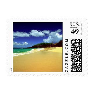 Big Beach, Makena Postage Stamp