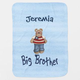 Big Bear Brother Receiving Blanket