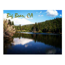 Big Bear, CA Postcard