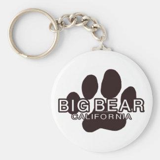 Big Bear California Llavero Redondo Tipo Pin