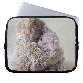 big bear holds little bear laptop sleeve
