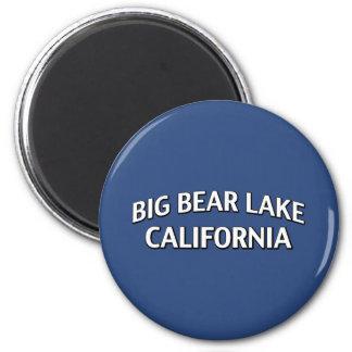 Big Bear Lake California 2 Inch Round Magnet
