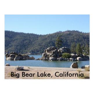 Big Bear Lake, California Postcard