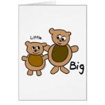 Big Bear Little Bear Greeting Card