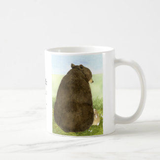 Big Bear Little Bunny Friendship Mug