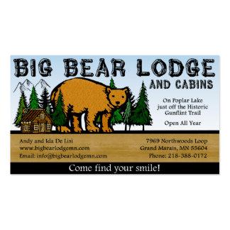 Big Bear Lodge and Cabins Business Card