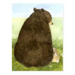 Big Bear y poca postal del conejito