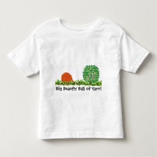 """Big Beastly Ball of Yarn"" Childrens Cotton Tee"